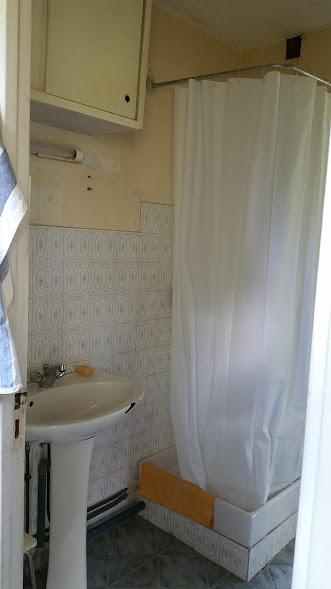 La salle de bains avant